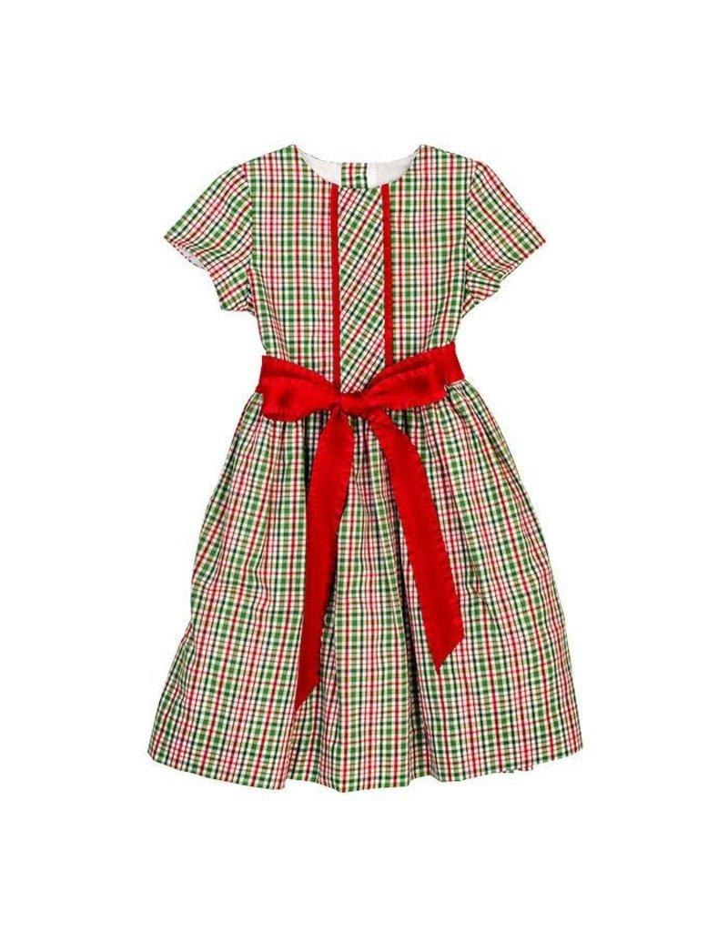 Bailey Boys Bailey Boys Mistletoe Plaid Dress Toddler