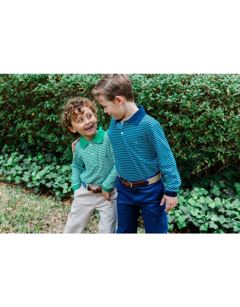 Bailey Boys Bailey Boys Big Boys Long Sleeve Striped Polo