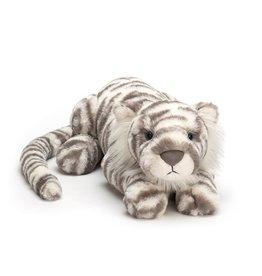 "Jellycat Jellycat Sacha Snow Tiger Little-11"""
