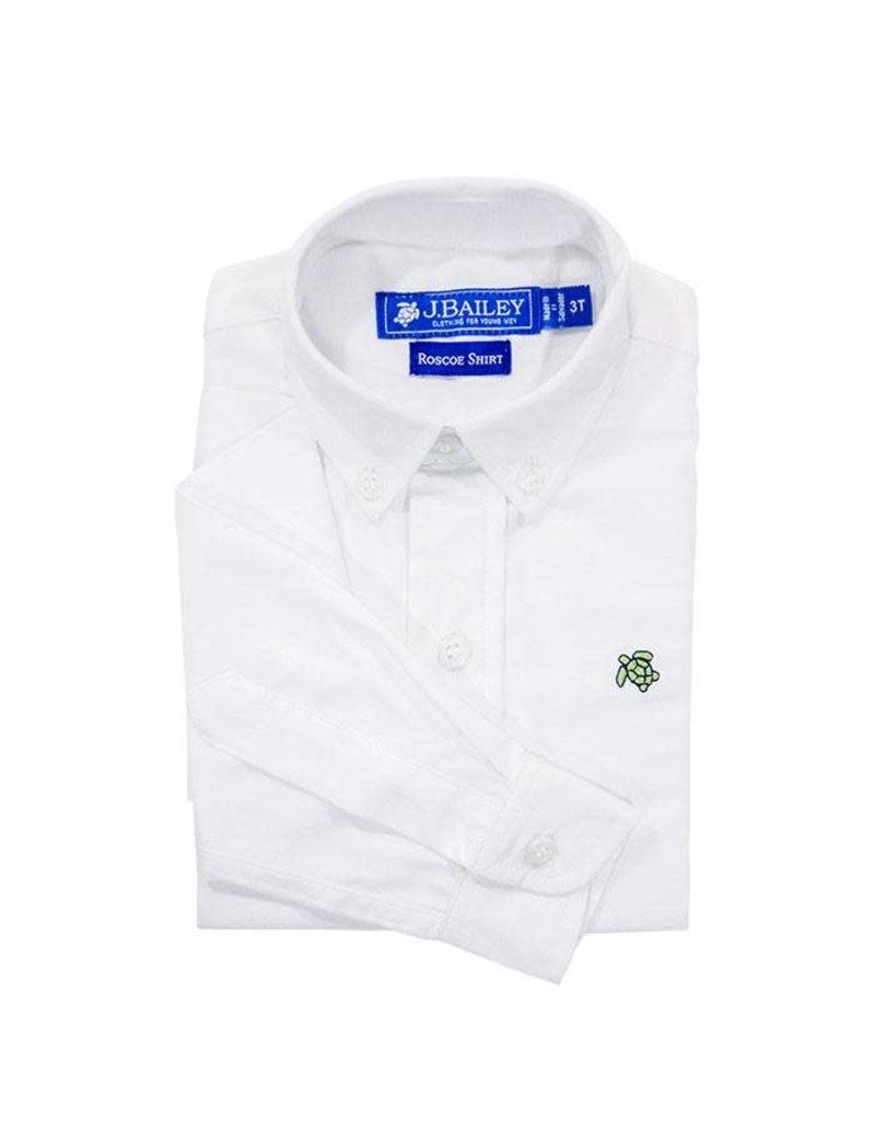 J Bailey J. Bailey Roscoe Oxford Shirt White