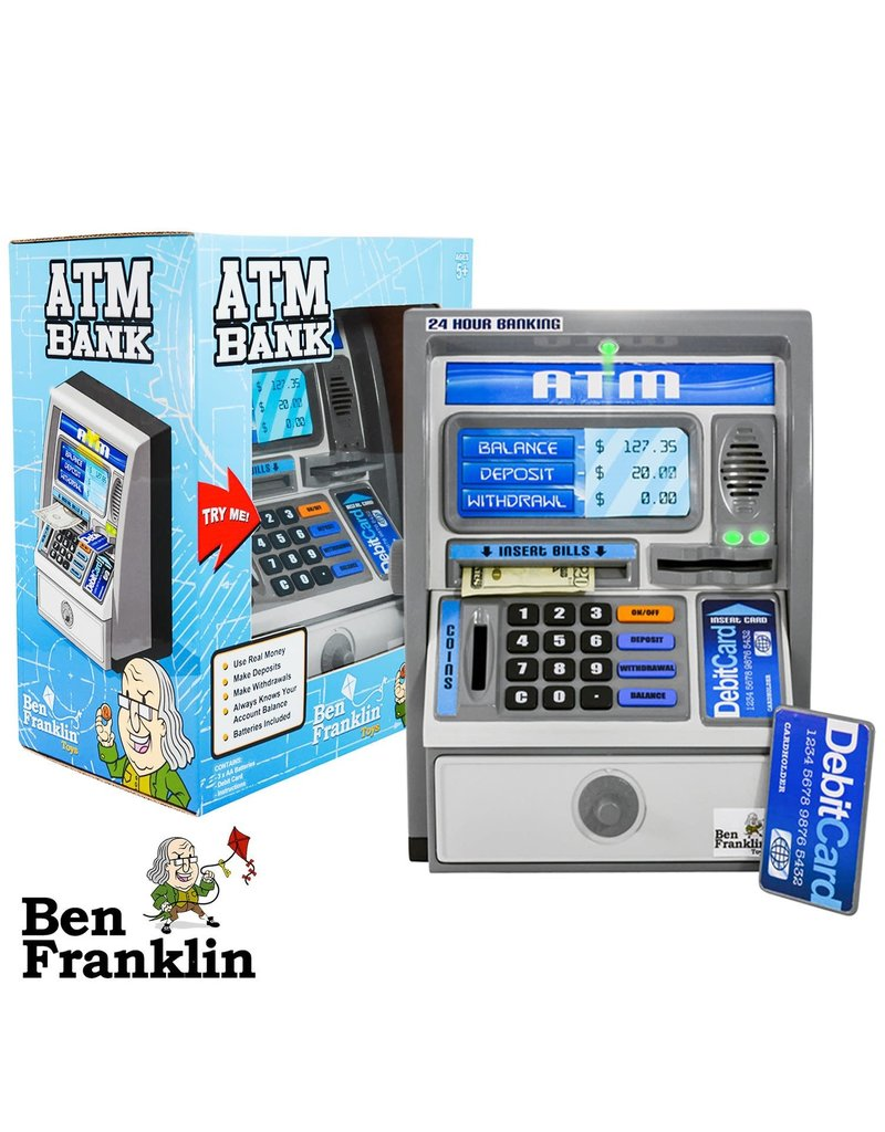 Ben Franklin Ben Franklin Toys Talking ATM Bank