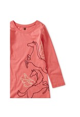Tea Collection Tea Collection Metallic Wind Horse Dress