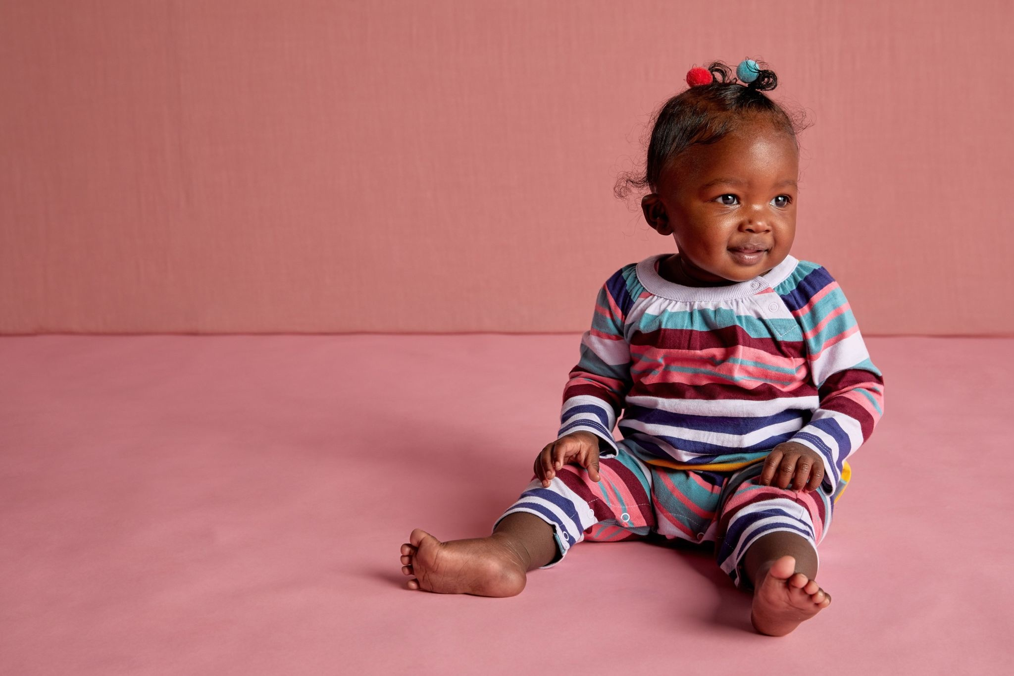 Tea Collection Tea Collection Striped Romper
