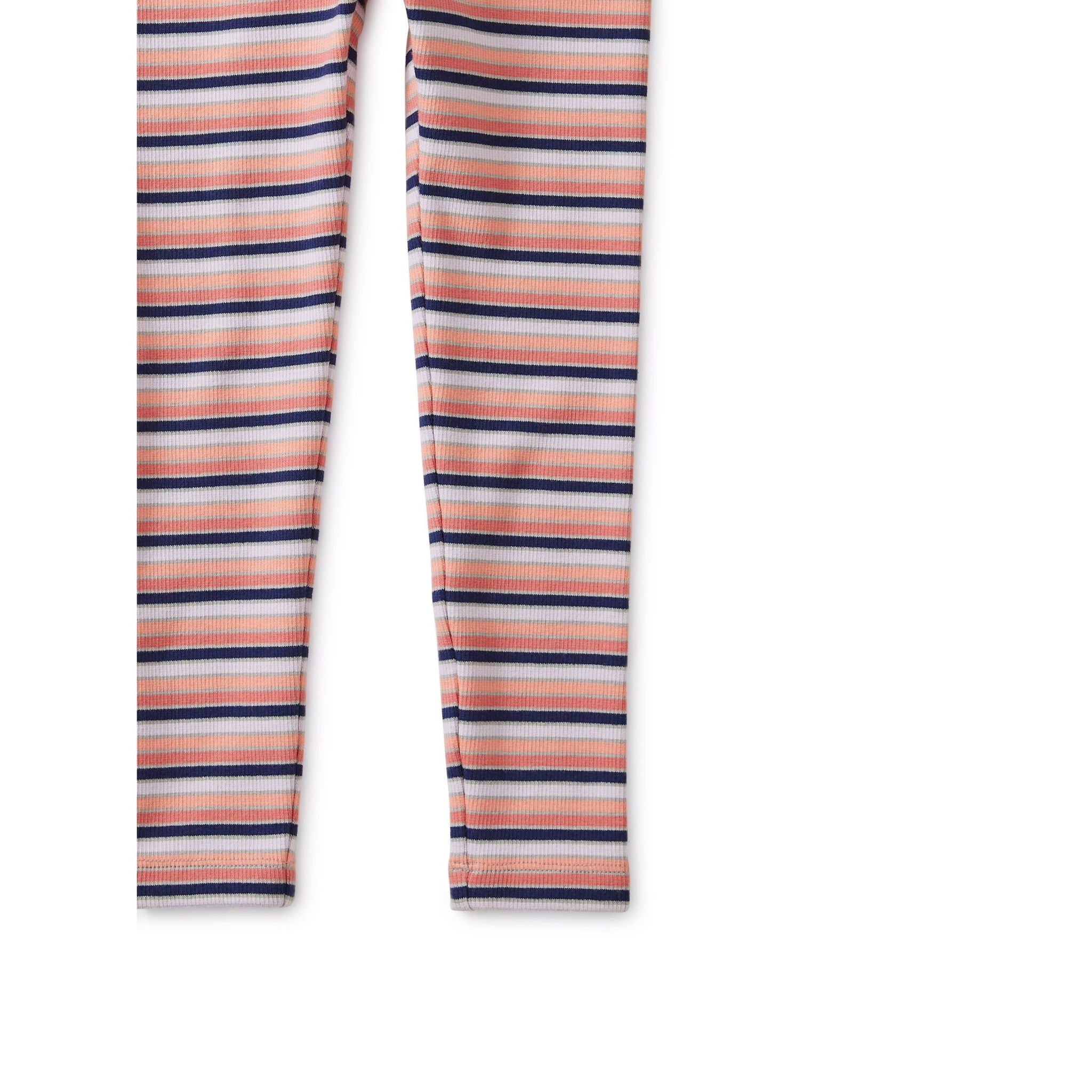 Tea Collection Tea  Multi Striped Ribbed Leggings