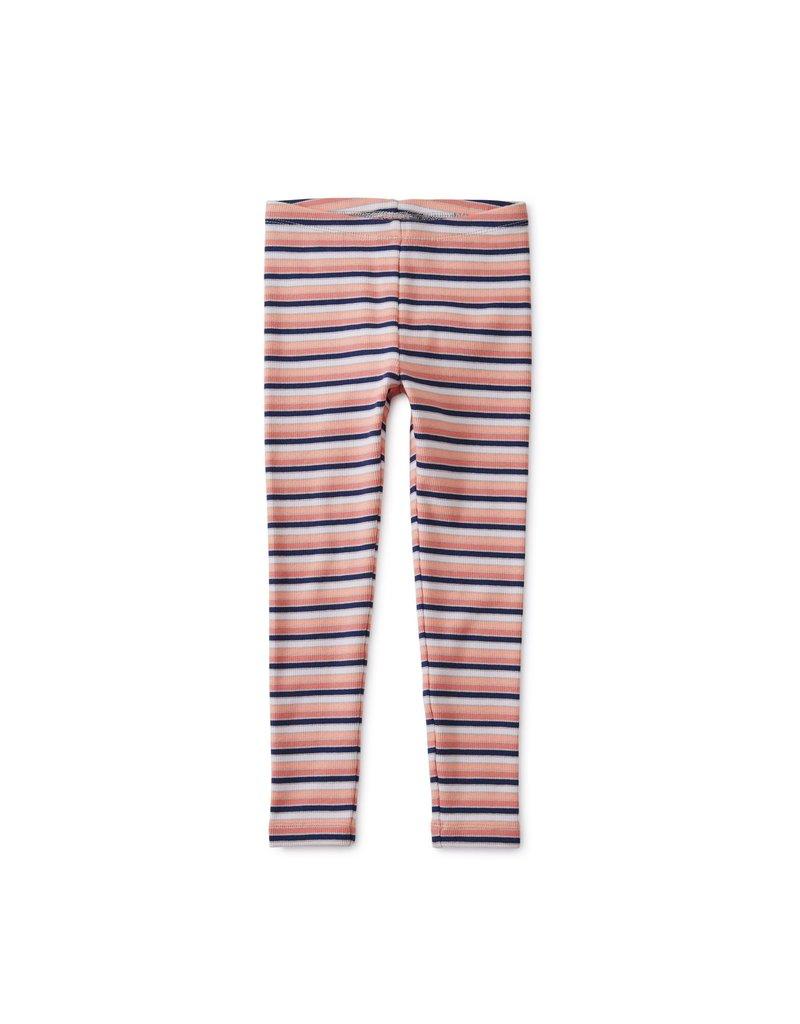 Tea Collection Tea  Multi Striped Ribbed Leggings