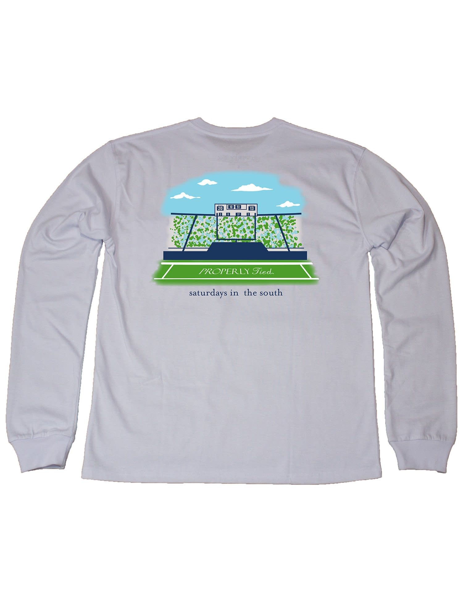 Properly Tied Properly Tied Saturdays in the South Long Sleeve