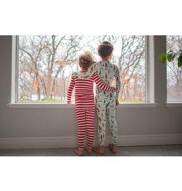 KicKee Pants Kickee Pants Print Long Sleeve Pajama Set -Toddler