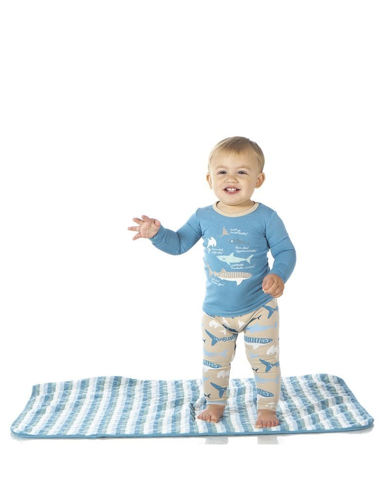 KicKee Pants Kickee Pants Long Sleeve Piece Print PJ Set