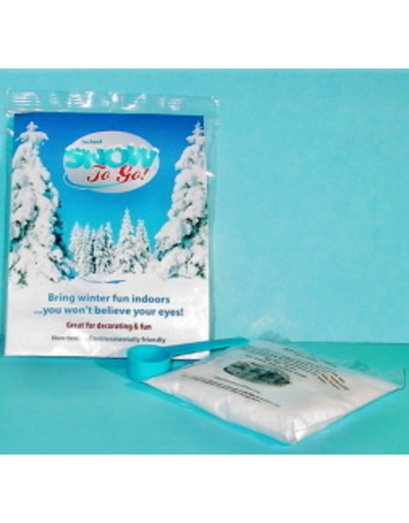 Gift Bliss Enterprises Gift Bliss Snow To Go! Instant Now Poly Pack