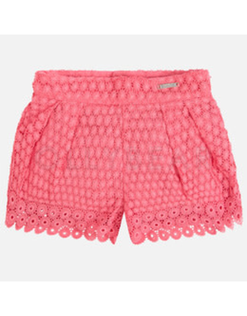 Mayoral Mayoral Guipure Lace Shorts