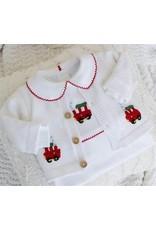 Little English Little English Crochet Cardigan