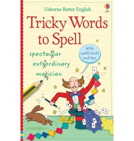 Usborne Books Usborne English Activities Tricky Words to Spell