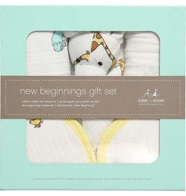 Aden and Anais Aden and Anais Jungle Jam Newborn Gift Set