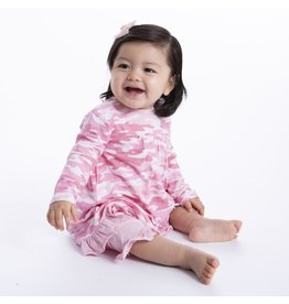 Magnificent Baby Magnificent Baby Modal Dress & Pant Set Girls