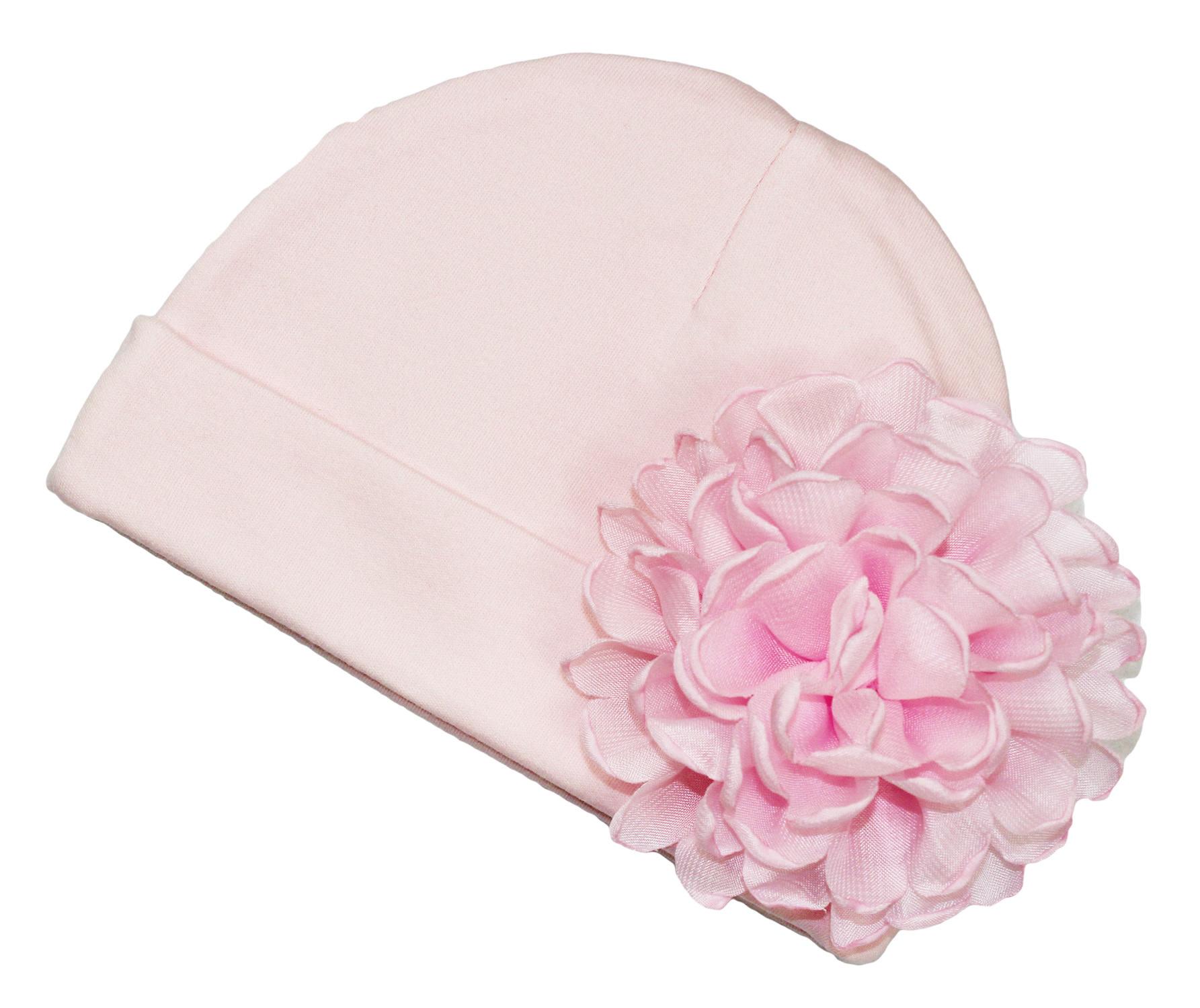 Beyond Creations Beyond Creations NB Hat w Detachable Flower