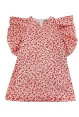 Gabby Gabby Flutter Sleeve Dress