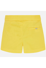 Mayoral Mayoral Satin Yellow Shorts