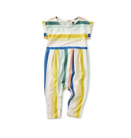 Tea Collection Tea Collection Cuff Sleeve Romper