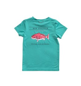 Prodoh Prodoh Performance Tee Red Snapper S/S