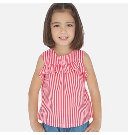 Mayoral Mayoral Stripes Loose Shirt 3186