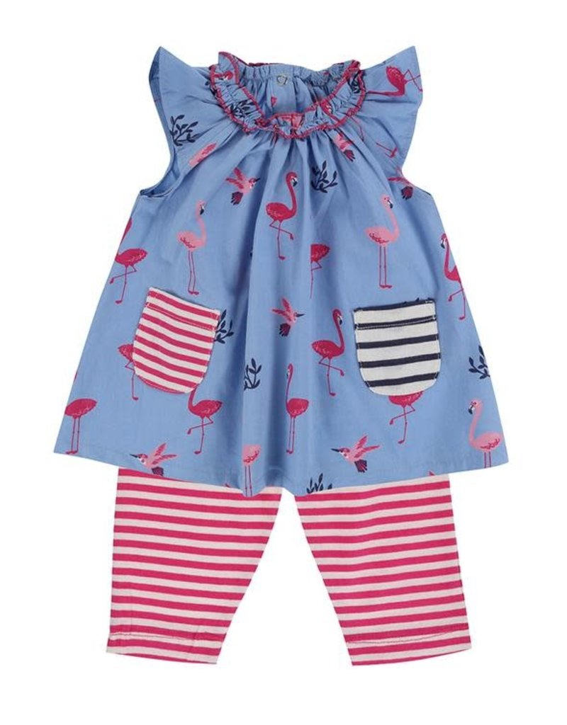 Lilly + Sid Lilly + Sid Dress/Leggings Set