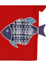 Lilly + Sid Lilly + Sid 3D Fish Fin Tee