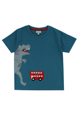Lilly + Sid Lilly + Sid Dino Bus Applique Tee