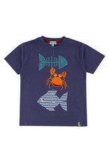 Lilly + Sid Lilly + Sid Good Catch Applique Tee