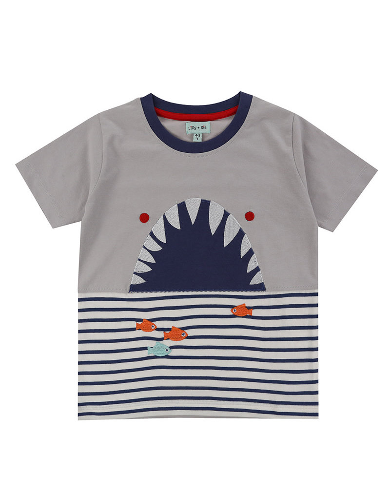 Lilly + Sid Lilly + Sid Shark Character Tee