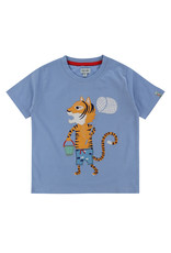 Lilly + Sid Lilly + Sid Applique T-Shirt - Fishing Tiger