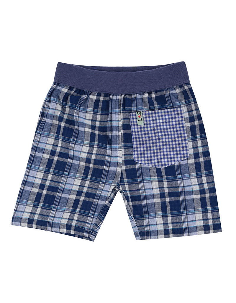 Lilly + Sid Lilly + Sid Reverse Check Shorts