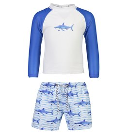 Snapper Rock Snapper Rock School Of Sharks LS Baby Set