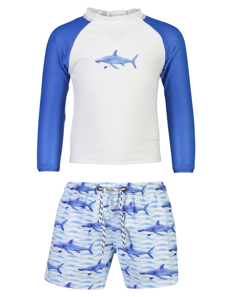 Snapper Rock Snapper Rock School Of Sharks LS Baby Set