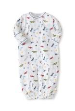 Kissy Kissy Kissy Kissy Aviators Print Convertible Gown