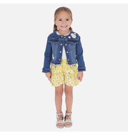 Mayoral Mayoral Girls Sunflower Shorts