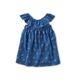 Tea Collection Tea Collection Girls Ruffle Neck Dress
