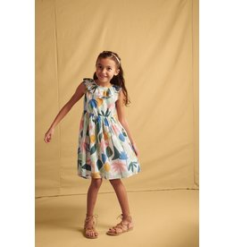 Tea Collection Tea Collection Ruffle Hi Low Dress