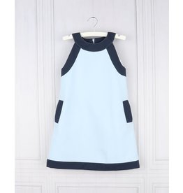 Gabby Gabby Pique Cruise Shift Dress