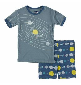 KicKee Pants Kickee Pants Short Sleeve Print Pajama Set with Shorts