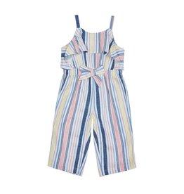 Habitual Girl Habitual Girl Jayda Stripe Ruffle Jumpsuit