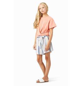 Habitual Girl Habitual Girl Ellie Front Bow Stripe Short