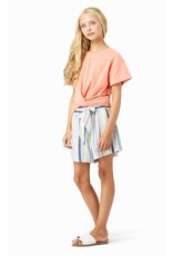 Habitual Girl Habitual Girl Mara Twist Front Short Sleeve Top