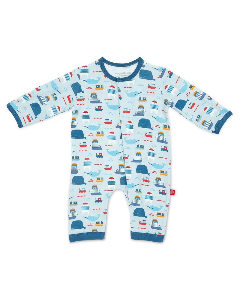 Magnificent Baby Magnificent Baby Modal Magnetic Coverall