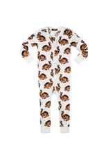 Milkbarn LLC Milkbarn Zipper Pajama