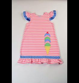 Funtasia Too Funtasia Too Knit Dress Ice Cream Cone