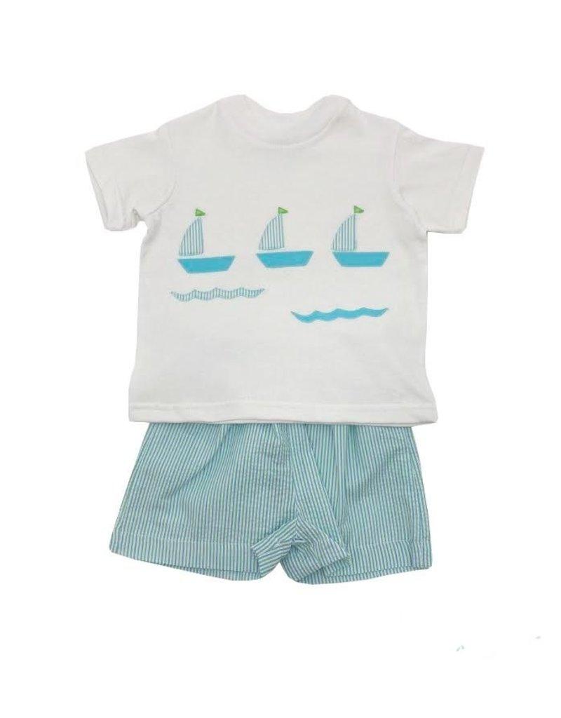 Funtasia Too Funtasia Too Tee Shirt Sailboats