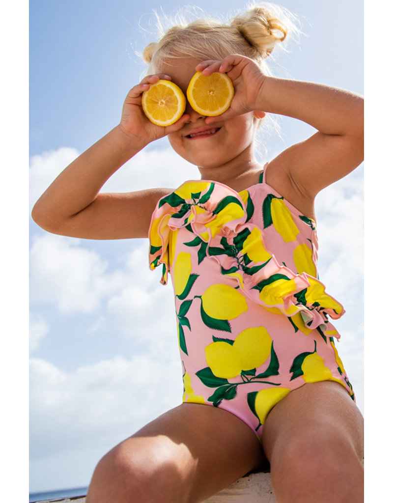 Shade Critters Shade Critters One Piece Ruffle Front Swim
