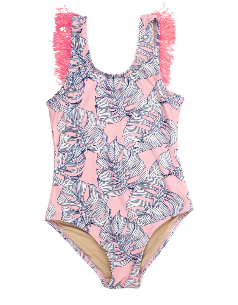 Shade Critters Shade Critters One Piece Fringe Back Suit