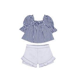 Habitual Girl Habitual Girl Cecelia Stripe Swing Top Set