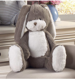 Birchwood Trading Company Birchwood Riley Grey Bunny 18""